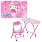 Детский складной столик со стульчиком DT мультгерои