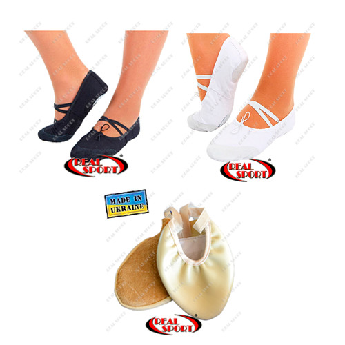 Обувь для танцев. балетки, получешки, полупальцы. фото №1