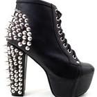 Модные женские ботинки на платформе Jeffrey Campbell. Под заказ!