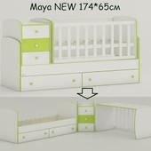 Maya New кроватка-трансформер для новорожденного. Киев, низкая цена