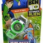 Детские музыкальные часы Бен 10