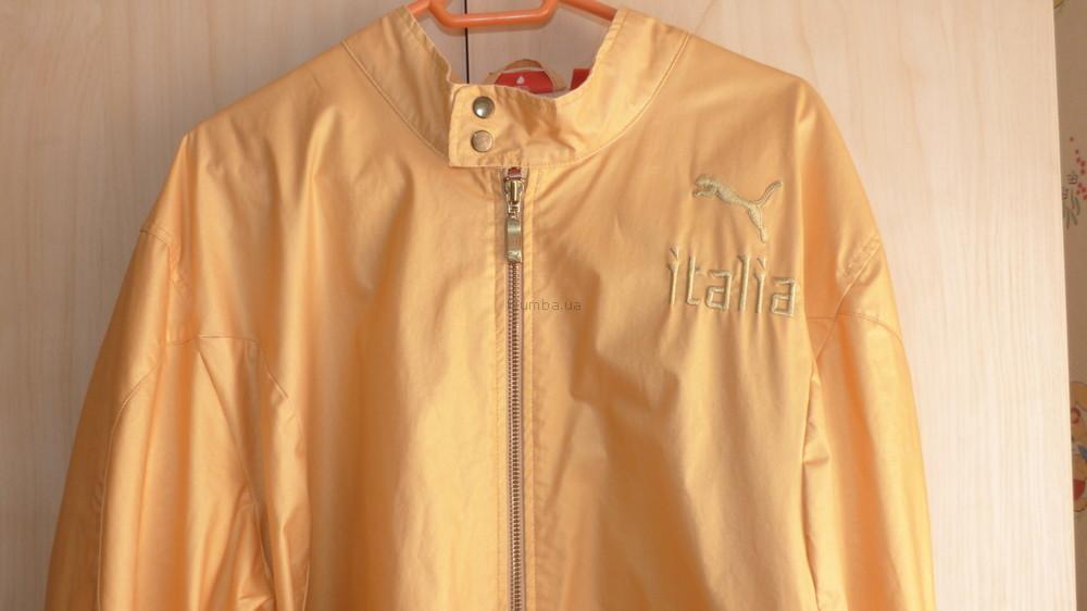 Шикарная модная золотистая ветровка, р.XL фото №1