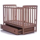 Детская кроватка Соня Лд12 (маятник,ящик) бук Верес.