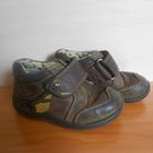 №586 Ботинки на мальчика кожаные деми Clarks в хорошем состоянии! 14,5см-23р