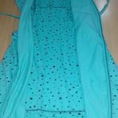 Стильный комплект халат и ночнушка хлопок