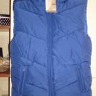Куртка жилетка безрукавка новая синяя женская размер L