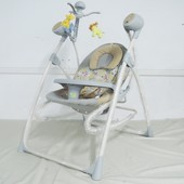 Кресло-качалка BT-SC-0005, 2 в 1 с пультом управления