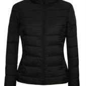 Стеганая женская черная осенняя куртка!!!