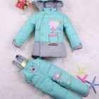 Модные детские зимние комбинезоны на заказ (СП) с сайта taobao.com (размер 100-120см)
