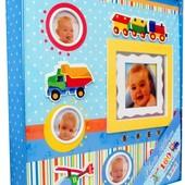 Фотоальбом Детский мальчика и для новорожденного 180 фото размером 10x15см