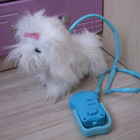Интерактивный щенок Пушистик на прогулке Ani Magic