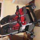 Прогулочная коляска для двойни Peg-Perego Aria Twin б/у в отличном состоянии, унисекс