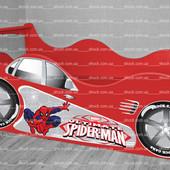 Кровать машина Человек паук ✿ Бесплатно доставка