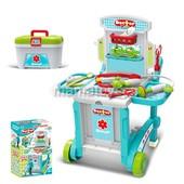 Доктор 008-929 на колесах, 59, 7-47-42, 5 см, чемодан, инструменты, 3 в 1
