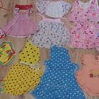Летние платья на малышку 9-12 месяцев (9штук за 150грн)