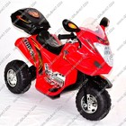 Мотоцикл 238 / с.41 (1) красный, аккум 1*6V4,5AH, редуктор 1*6V, скорость 4 км/ч, нагрузка до 30кг