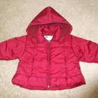 Курточка деми для девочки на рост 62-68 см