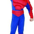 Детский карнавальный костюм Спайдермен-Человек Паук с мышцами