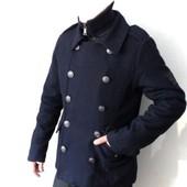 Шикарные мужские шерстяные демисезонные итальянские пальто Urban Ring M, L