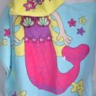 Фирменное Детское полотенце   пончо Русалка
