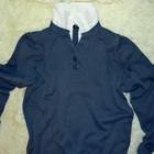 шикарный мужской вязаный свитер marks & spencer
