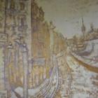 Художественная роспись стен и потолков,декоративная рельефная штукатурка,лепка фактурой ,барельеф