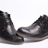 Мужские кожаные ботинки Levi`s Б 53-01