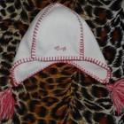Флисовая шапочка для девочки