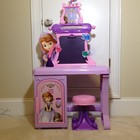Парта для вашей принцессы Disney princess Sofia the first royal Prep Talking school desk. Новая.