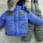 Зимние комбинезоны на мальчика , на двойном синтепоне