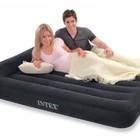 Полуторная надувная кровать Intex 66768 с подголовником