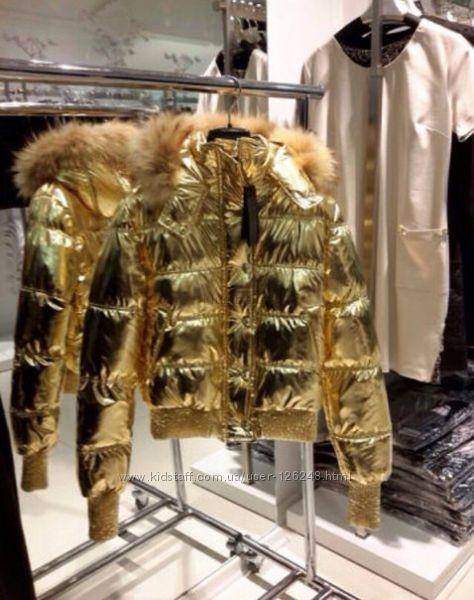 Золотая куртка philipp plein phillip lim в москве