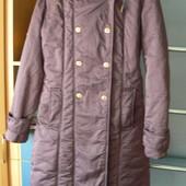 Пальто на синтепоне р.46