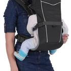 Кенгуру для детей, Рюкзак-кенгуру «BabyActive Simple» (черный)