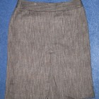 теплая юбка темно-коричневого цвета RW&CO, размер 6, сток. новая
