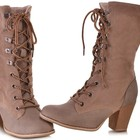 Зимняя обувь на шнурках женская