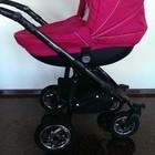 Продам современную коляску 2 в 1 Androx Milano цвет розовый!