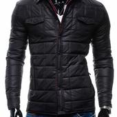 Стильная мужская демисезонная стеганная куртка