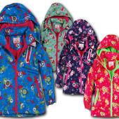Куртка демисезонная для девочек на флисе