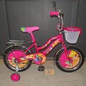 Детский двухколесный велосипед Мустанг Винкс Mustang Winks 12, 14, 16, 18, 20 д