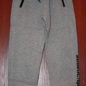 Утепленные спортивные штаны для мальчика - р.140, 158