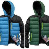 Мужская зимняя стеганная куртка на холофайбере,молодежная куртка спортивного стиля