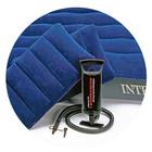 Intex Надувной Двуспальный матрас (две подушечки+насос)интекс