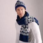 Набор шапка шарф ТСМ шерсть