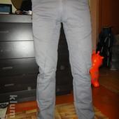 Мужские серые штаны 29 размера