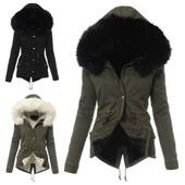 Обалденная зимняя женская куртка парка! Три цвета