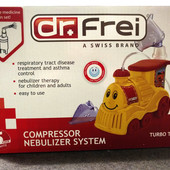 Ингалятор (небулайзер) детский компрессорный Turbo Train (торг.марка  Dr. Frei)