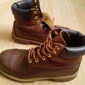 Кожаные ботинки Timberland оригинал р.39