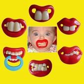 Силиконовые соски пустышки Зубы в наличии.