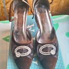 нарядные туфли  по стельке 26 см.